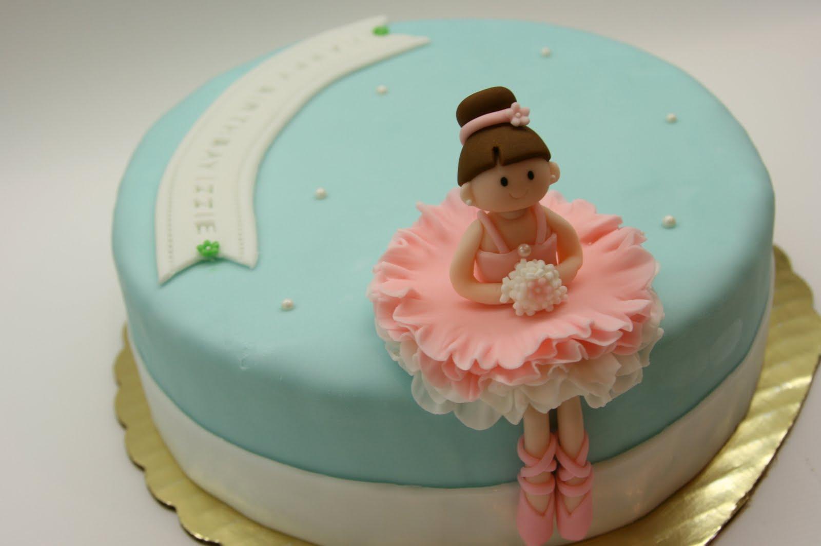 cakes fondant ballett