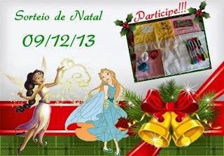 Sorteio de Natal da Amiga Dinha