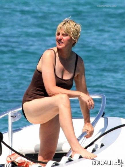 Ellen degeneres bikini pictures images