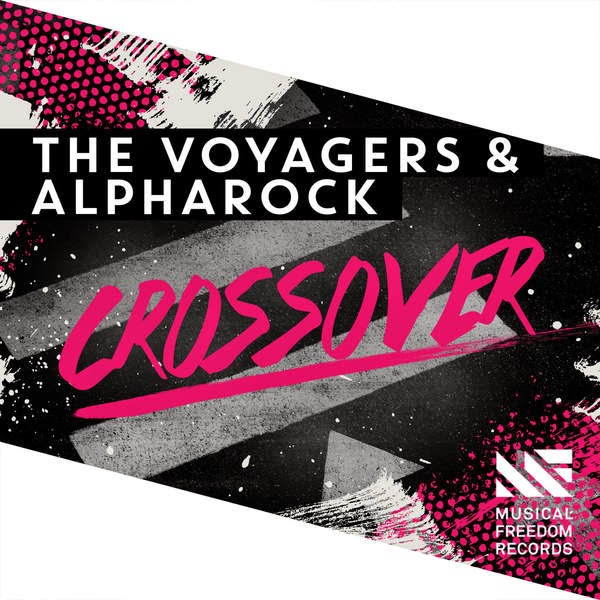 The Voyagers & Alpharock - Crossover - Single Cover
