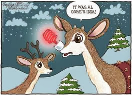 The eco-friendly Rudolph