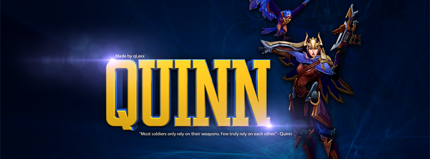Quinn League of Legends Facebook Cover PHotos