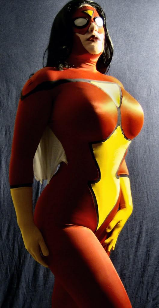 spiderwoman boobs