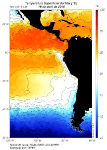 El Niño/La Niña en América Latina - Abril 2018
