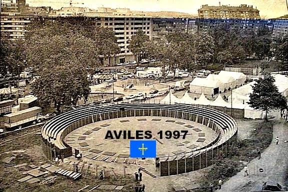 avilés plaza de toros