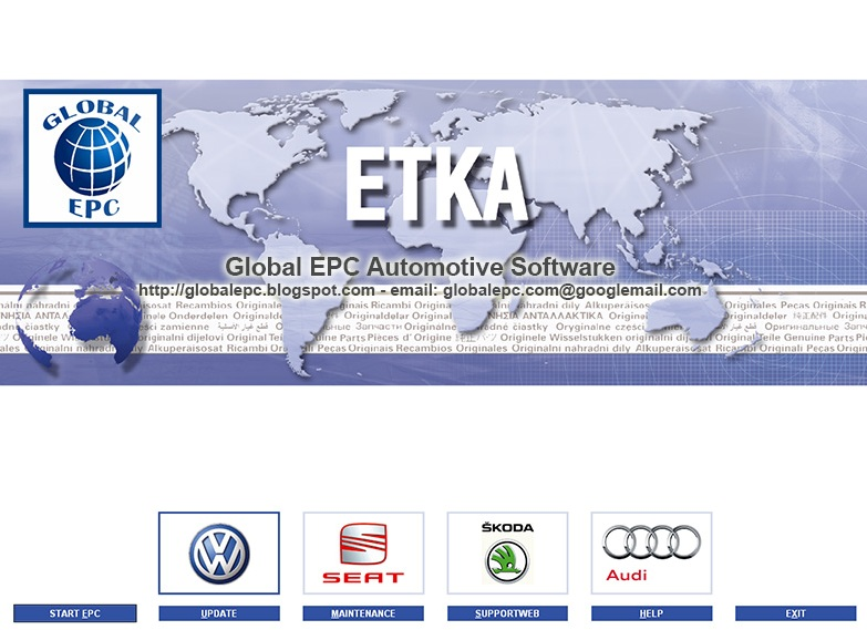 etka 7.3 update seat + skoda: