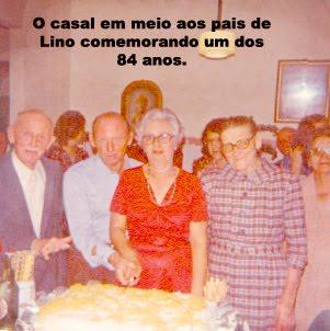 Lino e seus pais