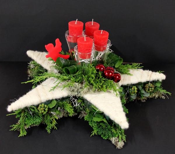 Bloemschikken Advent & Kerst - 6. Ster