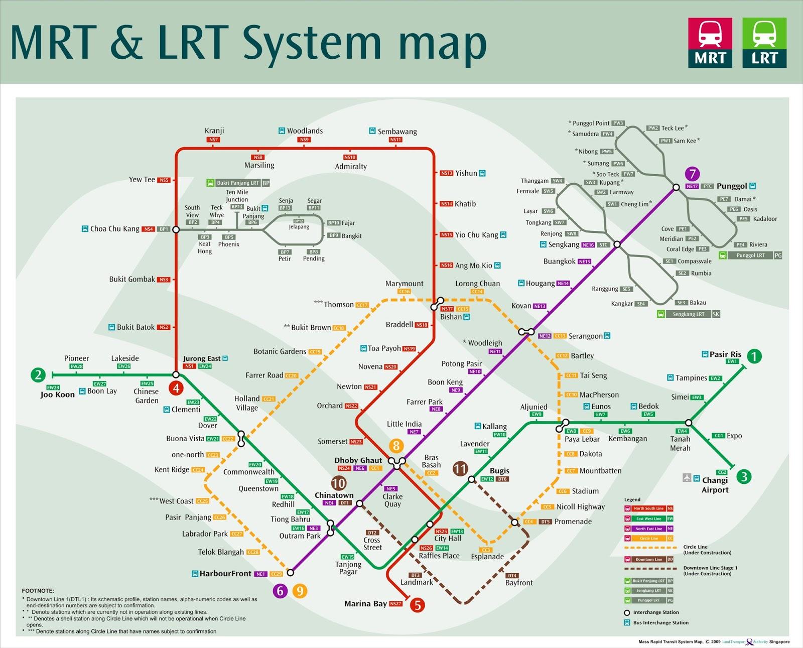 Hotel-hotel yang dekat MRT Stations di Singapura   Jalan
