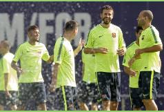 Luis Enrique hace rotaciones en la Champions