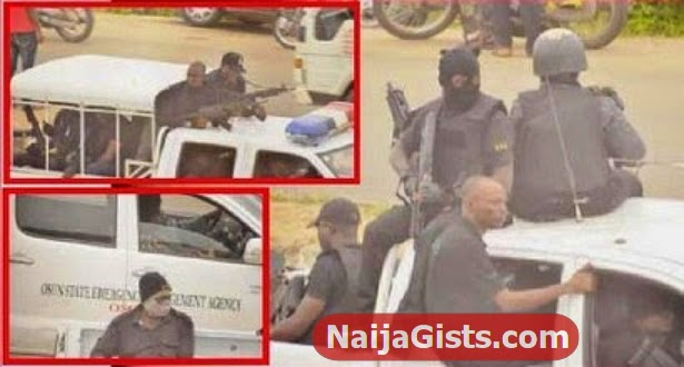 masked snipers osun election