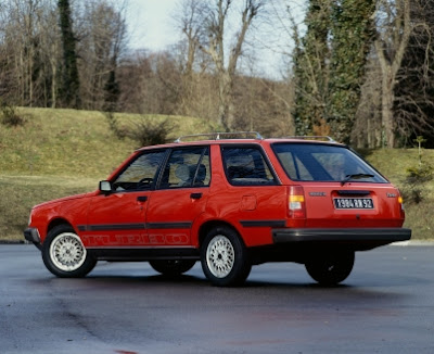 Renault 18 Turbo Break Model 85