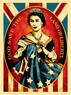 Obey Giant &#8220;God Save The Queen&#8221; Screen Print by Shepard Fairey