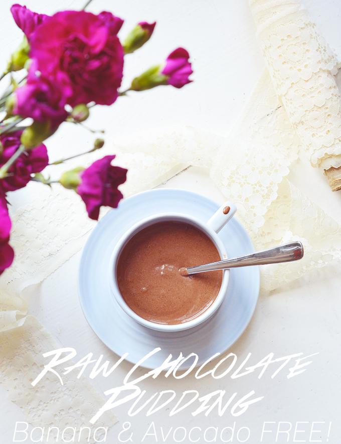 Raw Chocolate Pudding.
