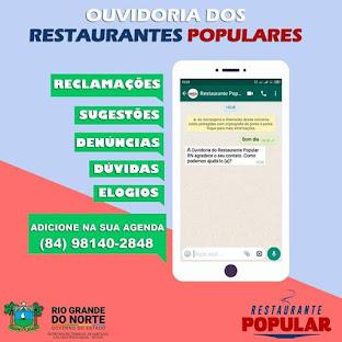 Ouvidoria dos Restaurantes Populares