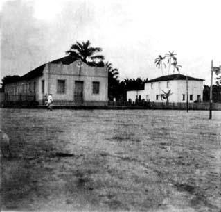 FONTE BOA (AM) - Praça Presidente Vargas - 1956