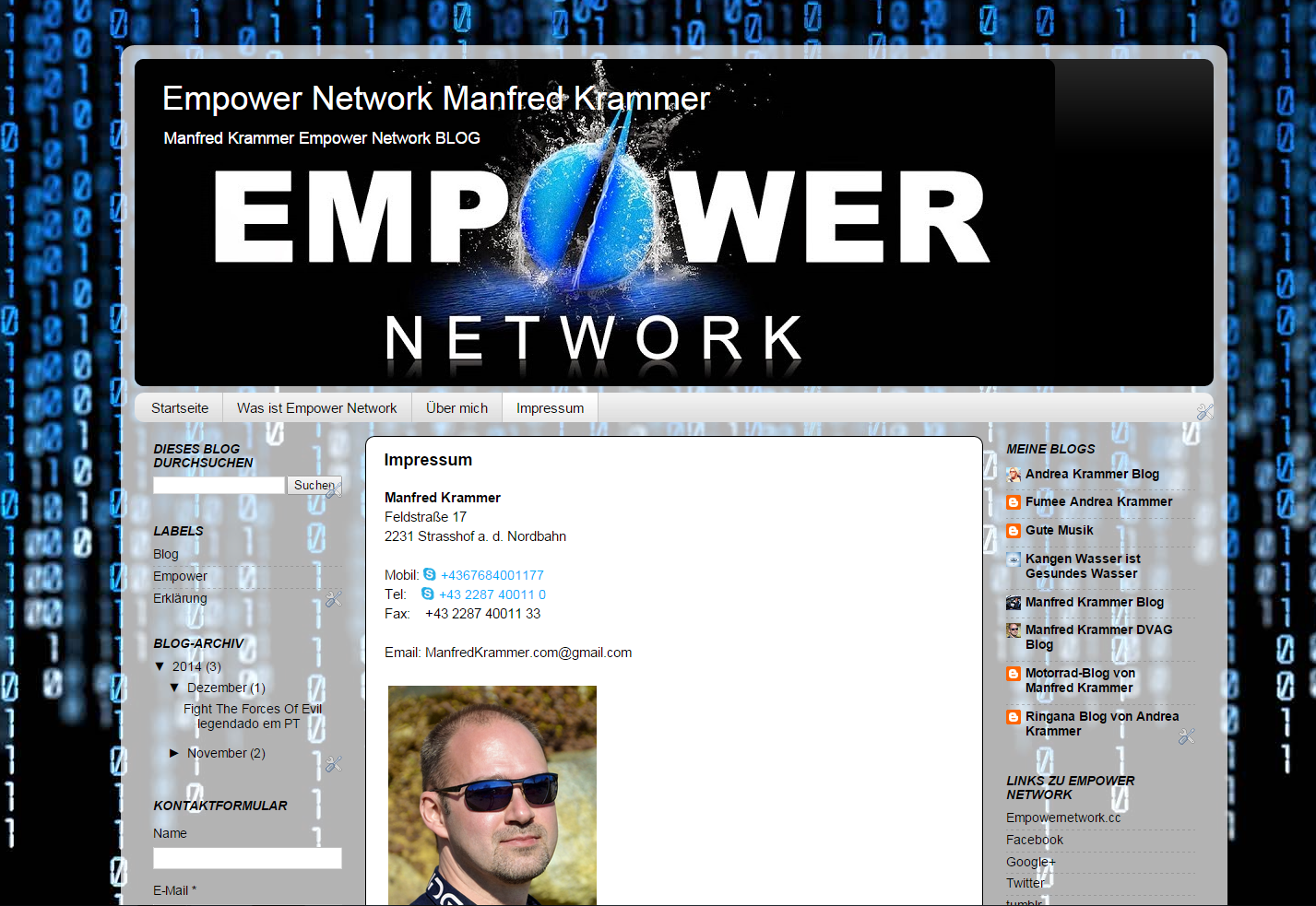 Empower Network Blog von Manfred Krammer