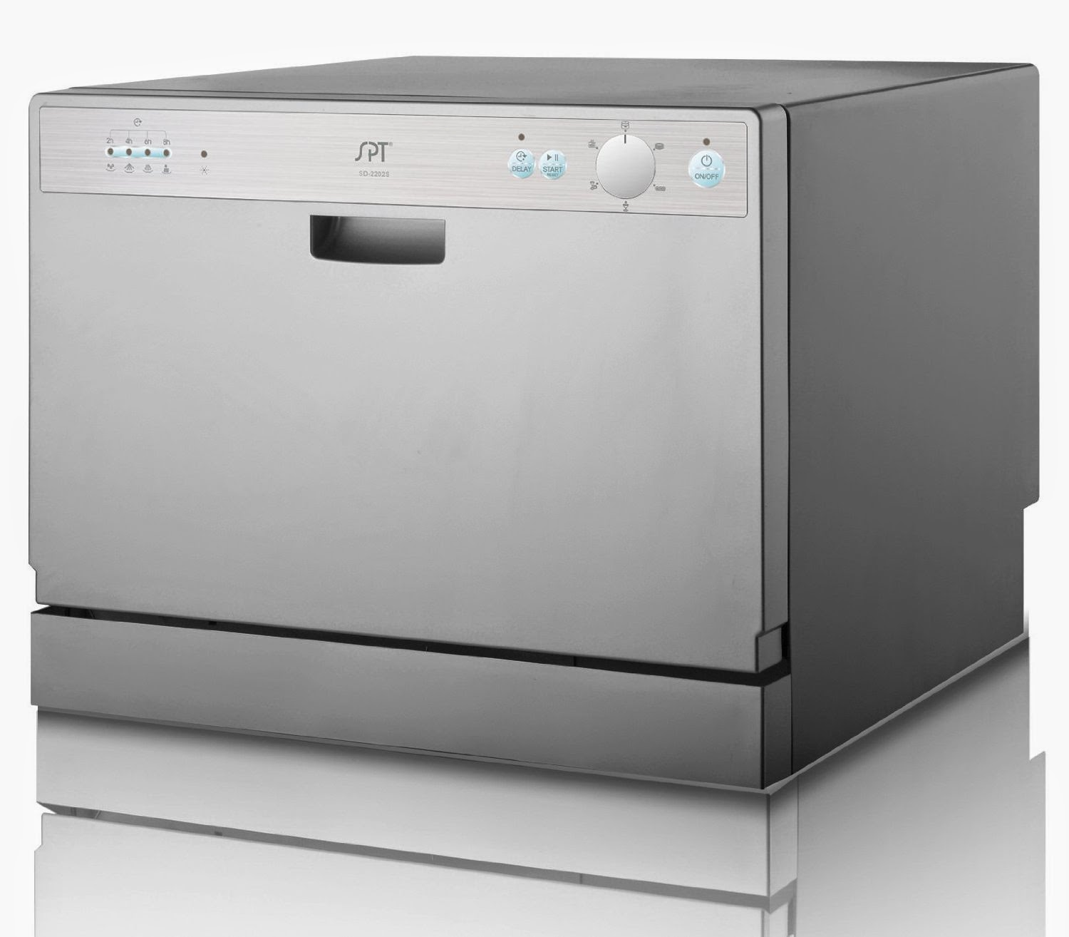 Silver SPT SD 2202S Countertop Dishwashers