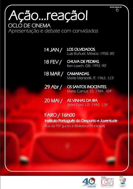 AÇÃO...REAÇÃO! // JAN-MAI 17: sábado à tarde
