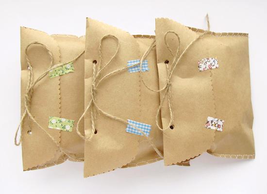 крафтовые пакеты, Packing