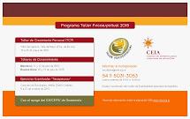 TALLER PSICOESPIRITUAL - Argentina, con el apoyo del ICE-CEFAS Guatemala