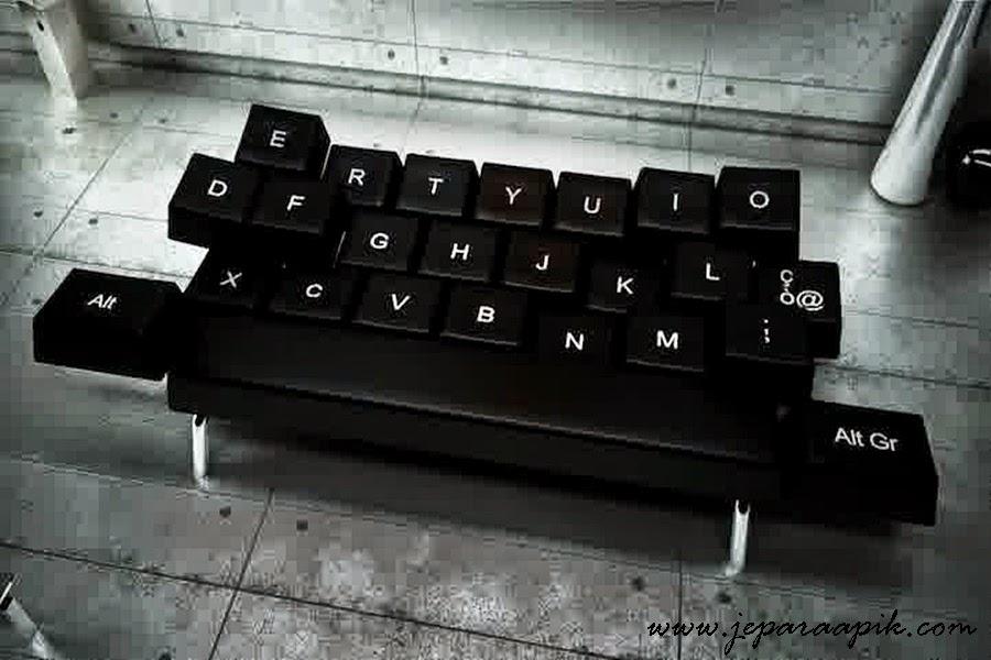 keyboard minimalist sofa