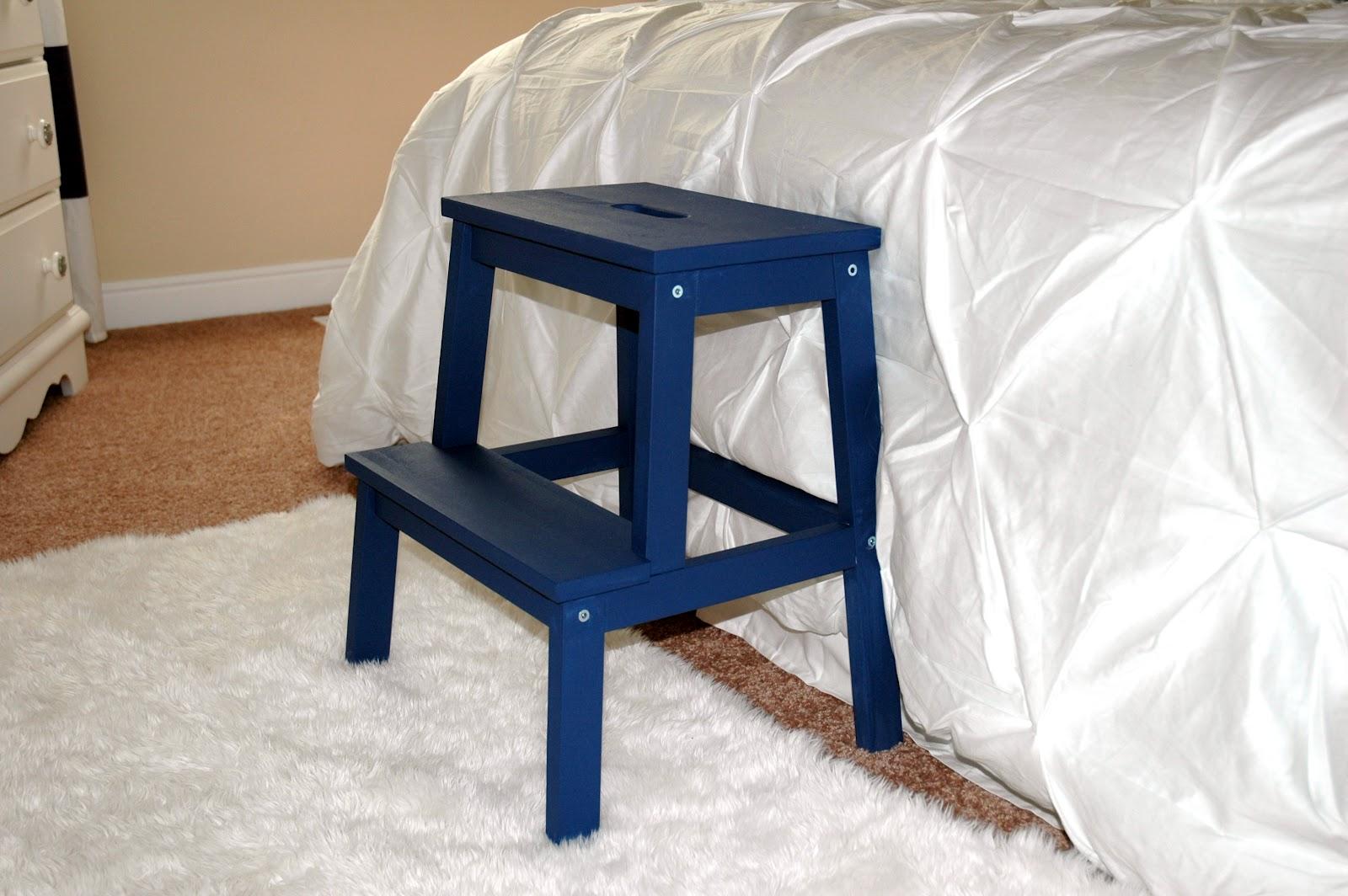 the turquoise piano ikea step stool