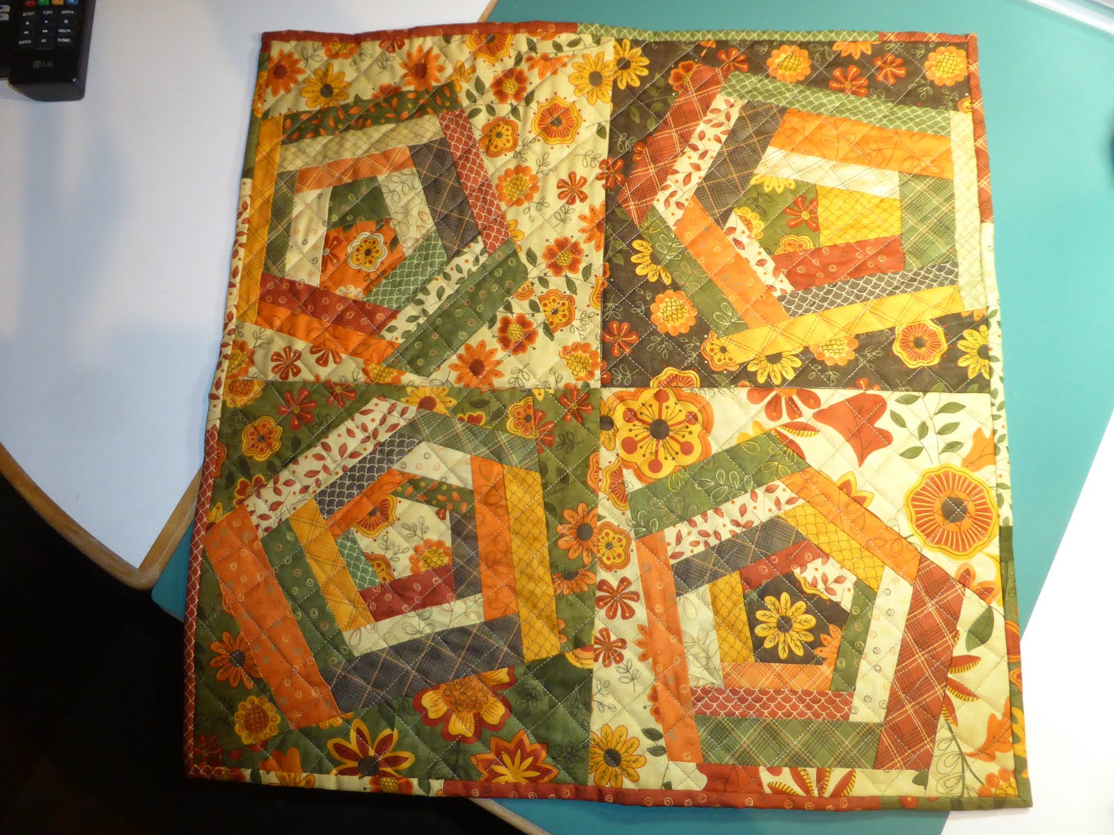 MQG mini Swap quiltje.