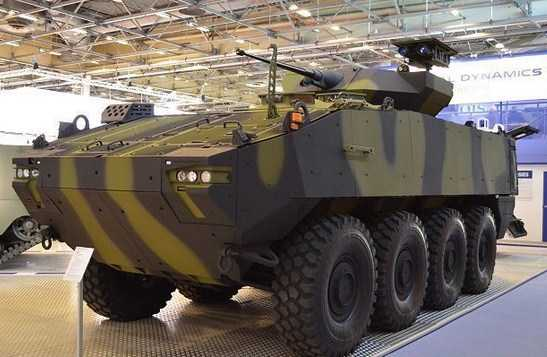 Wow Denmark Borong 309 Kendaraan Lapis Baja Piranha 5 8x8  Buatan General Dynamics