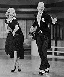 Astaire and Rogers in Swing Time (1936)
