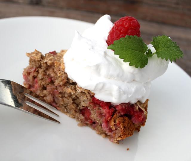 Oppskrift Enkel Rask Kakeoppskrift Havregrøtkake Glutenfri Havregryn Verdens Vegetardag