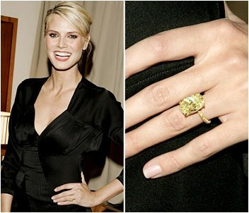 Yellow Diamond Rings: Celebrities Who Rocked Them