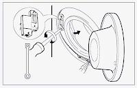 para cambiar el cerrojo de puerta de lavadora LG