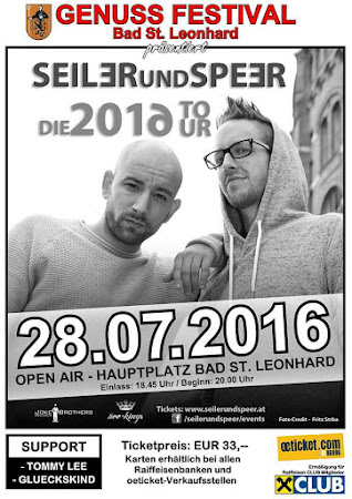 GENUSSFESTIVAL IN BAD ST. LEONHARD - SEILER & SPEER TOUR 2016
