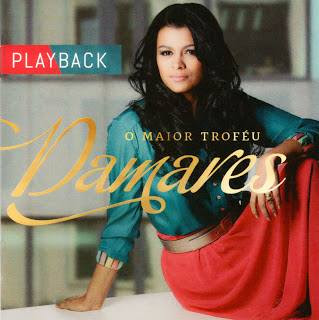 Capa do CD Damares    O Maior Troféu, Playback