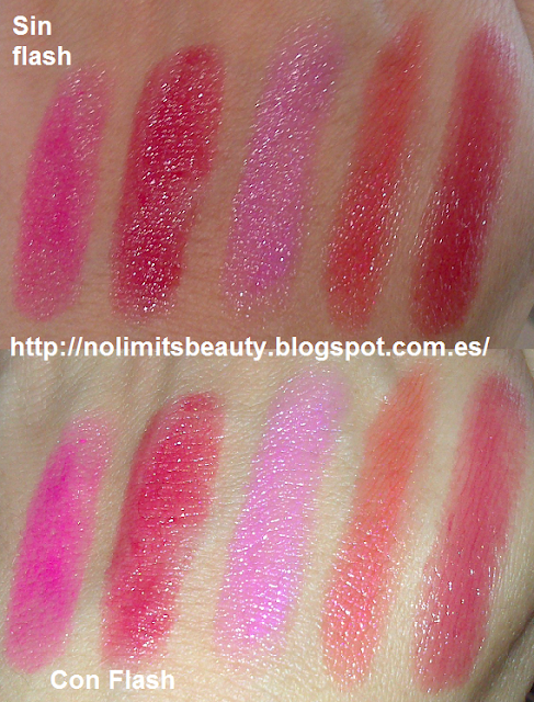 Hydra Brillo de Deliplús - swatches