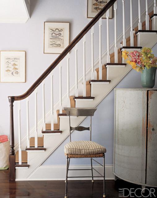 Elle Decor Foyer : Simple details interest for your entry