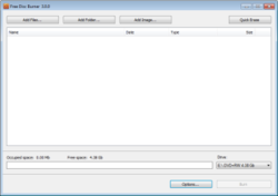 Updated Free Disc Burner and DVD Video Burner Software