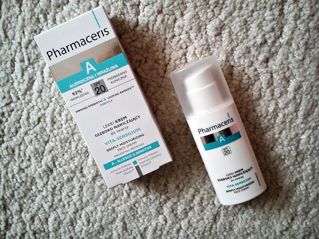 Lekki krem głęboko nawilżający SPF 20 | Pharmaceris