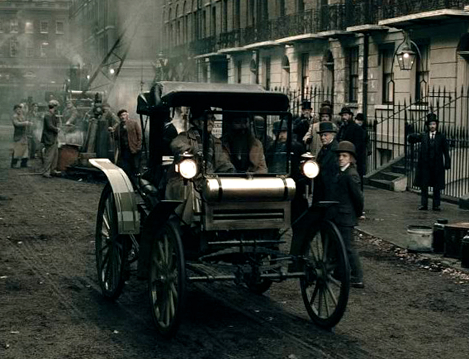 Just A Car Guy: that cool old vehicle in the 2nd Sherlock Holmes ...