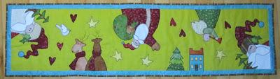 Juleløber efter Nancy Halvorsen Art to heart hæfter.