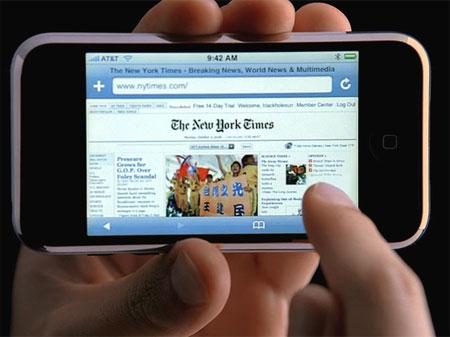 Use Internet on Mobile
