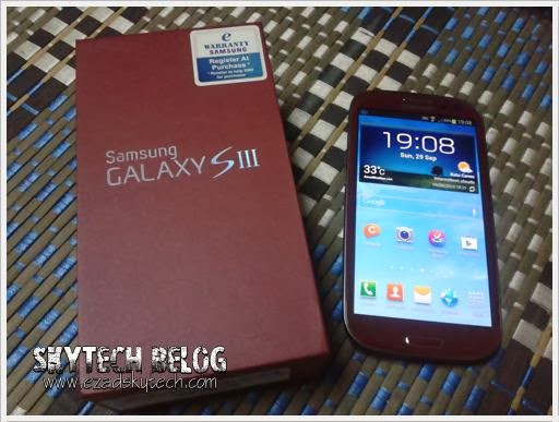 Samsung Galaxy S3 Masih Seperti Baru