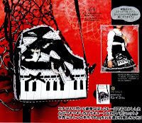 Gothic Lolita Piano Purse Sewing Patterns PDF | CraftyLine e