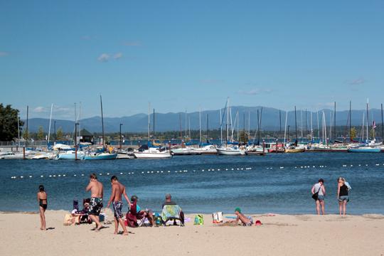 city beach sandpoint