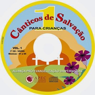 CD Cânticos de Salvação 1.