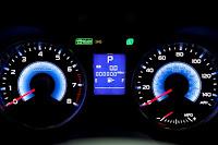 2015 New Hybrid Subaru XV Crosstrek Series speed meter view