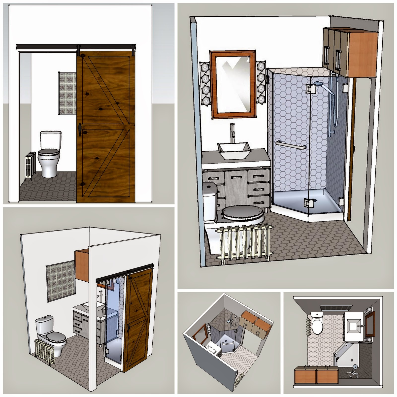 Haphazard musings and creations learning google sketchup for Sketchup bathroom sink