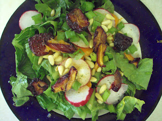 Lemon Poppy Seed Drenched Fruit 'n Nut Salad