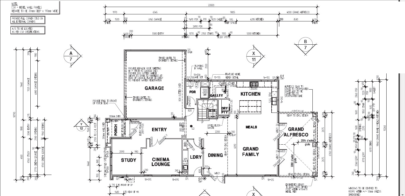 Furniture room dimensions floor plans georgetown law for House plans with dimensions